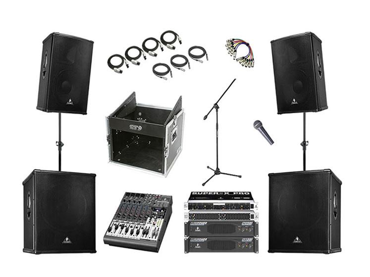 sound equipment hire sound equipment rental. Black Bedroom Furniture Sets. Home Design Ideas